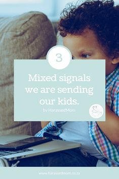 I have been thinking about the mixed signals we send our kids. Do you agree or disagree. Gentle Parenting, Parenting Advice, Parenting Quotes, Baby Calm, Raspberry Leaf Tea, Baby Massage, Parenting Toddlers, Infant Activities, Working Moms