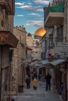 Popular on 500px : Jerusalem street by lucky-photographer