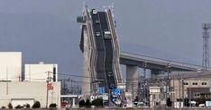 No, that's not aroller coaster! It's abridge inJapan