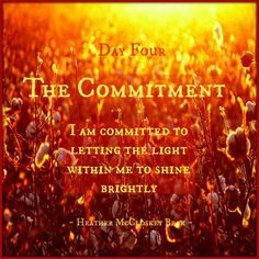 Day 4 - The Commitment