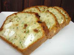 recette de cuisine cake salé figue feta et herbes fraîches