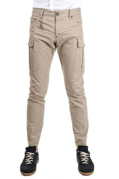 5cd0aea772f Dsquared2 cotton trousers (art.S74KAO676 S41794 115)