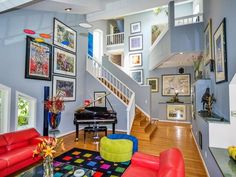 Bright, Unique and Colorful Living Room Decorating Ideas