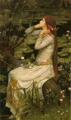 Romanticism | this painting waterhouse by john william is a romanticism painting #PadreMedium