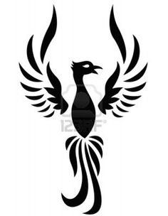 Love the phoenix meaning - rebirth - die a little inside to be reborn as a stronger and wiser version of you - def my next tat idea (not this image, but something Phoenix)