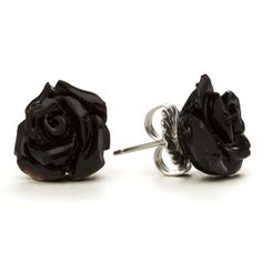 Buffalo Horn Roses Earrings, now featured on Fab.