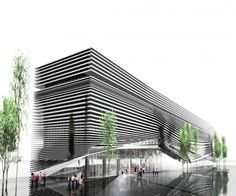 Commercial Complex for Building Industry Proposal / Alireza Mahdizadeh Hakak, Ali Aleali, & Fatemeh Farmanfarmayee