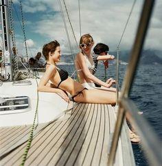 Little black bikini boat sailing Summer Breeze, Summer Vibes, Croatia Yacht Week, Summer Of Love, Summer Fun, Summer Days, Calpe Alicante, Station Balnéaire, Sail Away