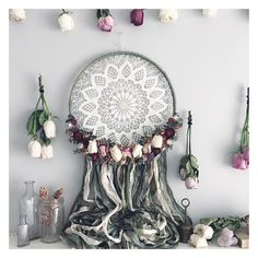 See this Instagram photo by @meadowandmoss • 414 likes #dreamcatcher #wallhanging