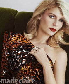 Claire Danes Stars in Marie Claire US February 2017 Cover Story