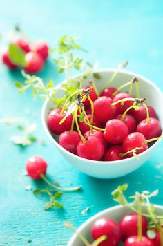 """A Bowlful of Cherries"" ~ by Beatrice Peltre"