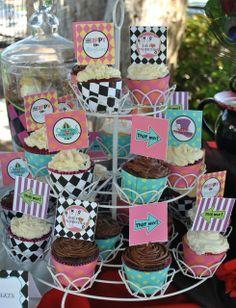 Alice in Wonderland/Tim Burton/Underland Birthday Party Ideas | Photo 13 of 21 | Catch My Party