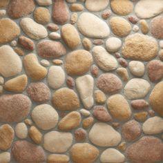 river rock tile | ... River Rock (Box) Autumn Bronze MS70 VRRFLATBX1P Style Tile & Stone at