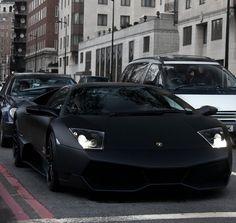 Matte Black Lamborghini Nero Nemesis