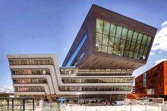 BIBLIOTHÈQUE ET CENTRE D'APPRENTISSAGE PAR Zaha Hadid Architects