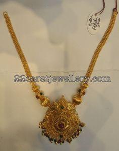 Jewellery Designs: Gold Choker