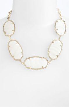 pretty! Kendra Scott 'Valencia' Stone Collar Statement Necklace