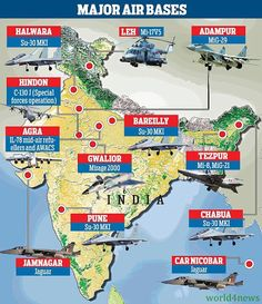 Partition of india in 1947 geography pinterest india and history indian air force prepared for largest ever air exercise world 4 news gumiabroncs Gallery