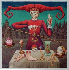 "Michael Hutter ""The Weigher of Head and Heart"""