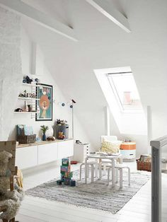 Kids room decorated with good taste   10 Fun & Friendly Kids Playrooms Part 3 - Tinyme Blog