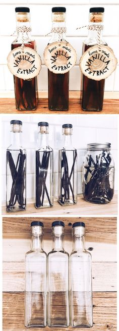 How To Make Your Own Vanilla Bean Extract — First Thyme Mom How To Make Your Own Vanilla Bean Extract - Homemade Gift Ideas For Bakers. Nutella Brownies, Gifts For A Baker, Gifts For Mom, Homemade Food Gifts, Diy Gifts, Make Your Own, Make It Yourself, How To Make, Paleo Snack