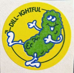 Vintage stickers • Scratch n Sniff • 1980s