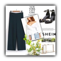 """""""SheIn 3/I"""" by amina-haskic ❤ liked on Polyvore featuring WithChic and shein"""