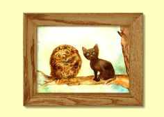 Cats and Birds Thank You Treasury от Sharon Wittke на Etsy