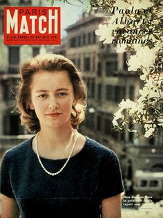 Donna Paola Ruffo di Calabria, now Queen Paola of Belgium