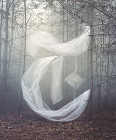Atmospheric objects installations by Nicola Yeoman
