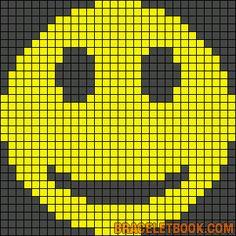 sandylandya@outlook.es  Smiley perler bead pattern
