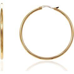 69680f4922 Infinity 4 cm gold vermeil hoops