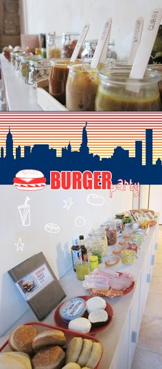 petits+joe: Burger party