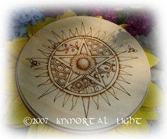 Immortal Light - Midsummer Altar Tile
