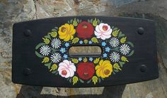 FROM LITTLE ACORNS - Decorative Painting for Beginners by Gill Hobbs: Canal style Folk Art