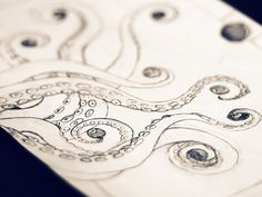 Tentacles Sketch (Work in Progress) | Flickr - Photo Sharing!