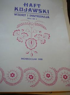 Wiano.eu, Wyroby ludowe Poland, Embroidery Designs, Folk, Diy, Do It Yourself, Popular, Bricolage, Fork, Handyman Projects