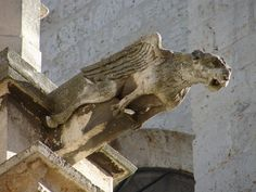 Gargoyles on the Cathedral of Palencia - Spain