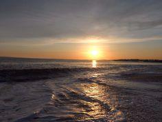 Coast line at Milford-on-sea #sunset #seaside #beach