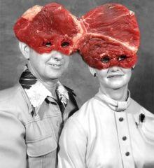 Une image d'un frère et d'une soeur en 1972 + faux filet, Brest Brest Brest, History&Chips