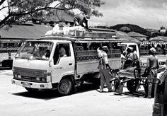 Dalla dalla o matatu #zanzibar #masai
