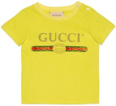 bcb0dc5719 Baby T-shirt with Gucci logo #ShopStyle #giftideas #holidays click for  information