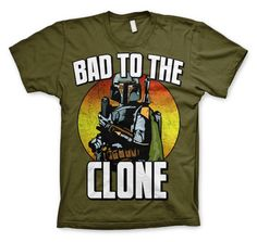 Bad To The Clone T-Shirt (Olive)