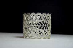 one of a kind silver lace bracelet silver arm cuff wide by MyElesi Indian Jewellery Design, Indian Jewelry, Jewelry Design, Silver Bracelets, Cuff Bracelets, Silver Arm Cuff, Lace Bracelet, Lace Cuffs, Statement Jewelry