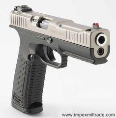 "Arsenal Firearms Strike One Speed titanium Cal.9x19 5"""