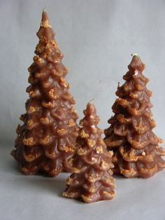 CHRISTMAS TREE Candle Set Hand Poured by SCENTSOFHUMORCANDLES, $17.99