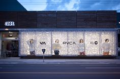 RVCA X Boardroom Window #rvca #boardroom #vancouver #window