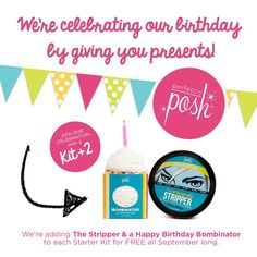 Join by Sept. 30th to grab this great deal. Celebrate with us by joining today www.perfectlyposh.us/shaleenague