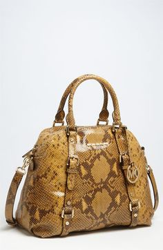Michael Kors The ONLY snakes I like - Shoes and Handbags!!!
