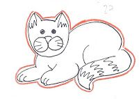 Montreal Confections: Wilton animal cutter set - Outline template ideas